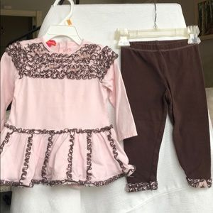 2 Piece Dress with Leggings